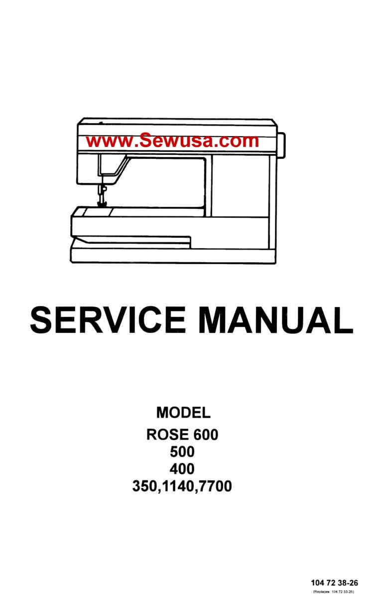 Viking Rose 350 400 500 600 1140 7700 Service Manual, wpe35.jpg (49202  bytes)