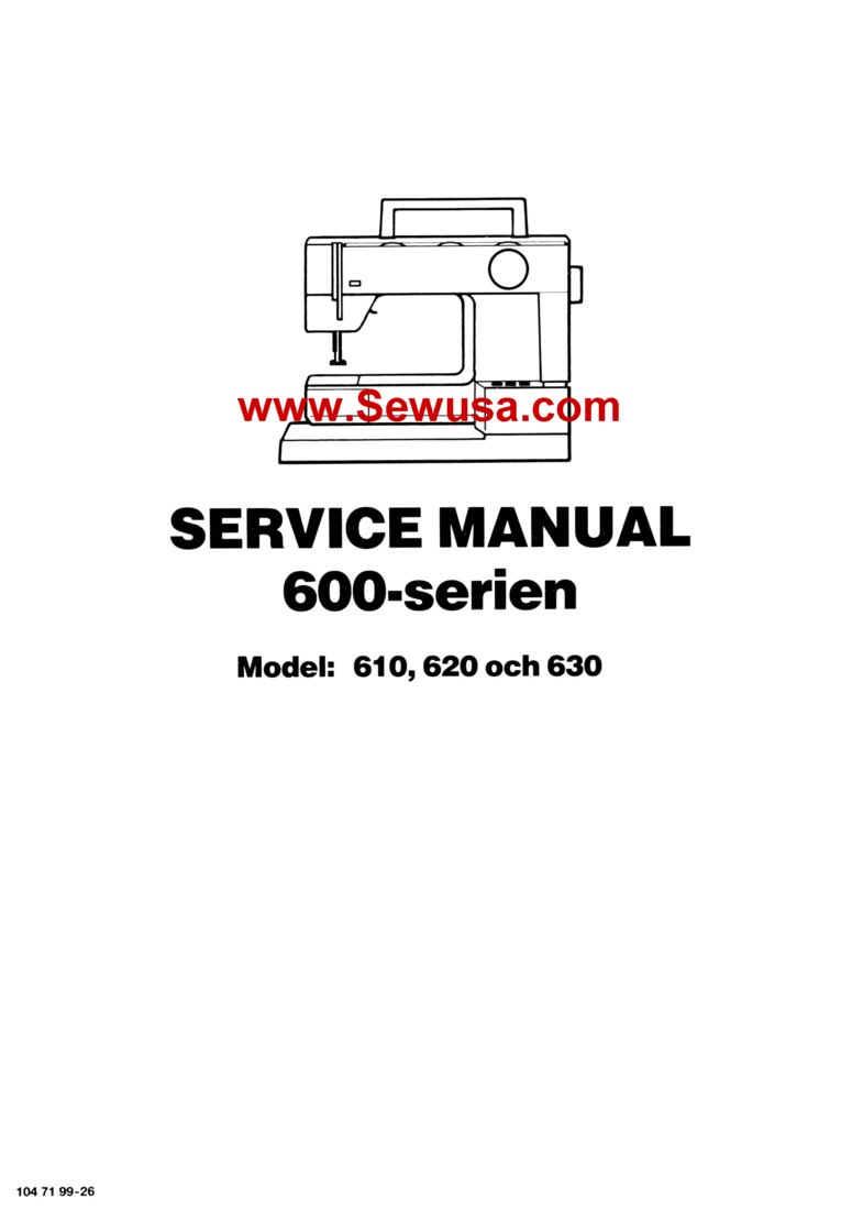 Viking 610 620 630 Service Manual, wpe3B.jpg (40812 bytes)